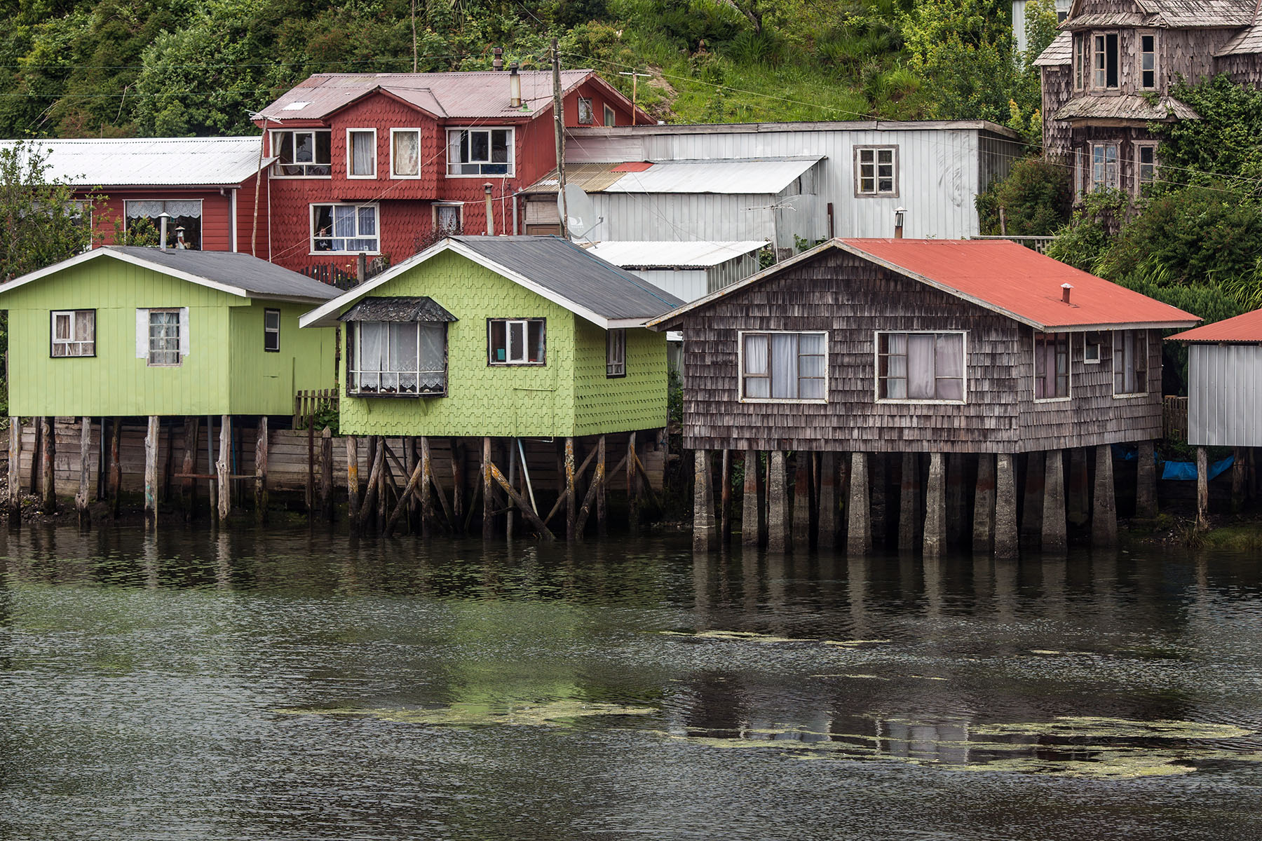 Slit Homes in Chiloe Chile