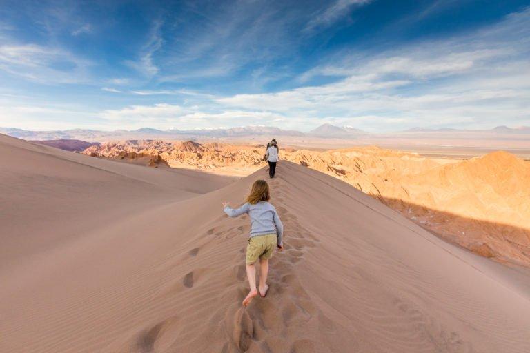 Kids at Tierra Atacama