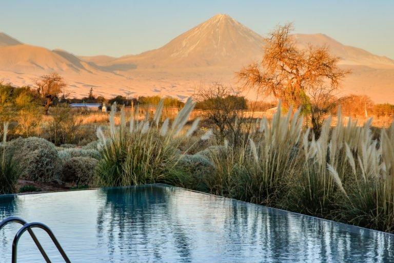 Piscina Tierra Atacama Licancabur